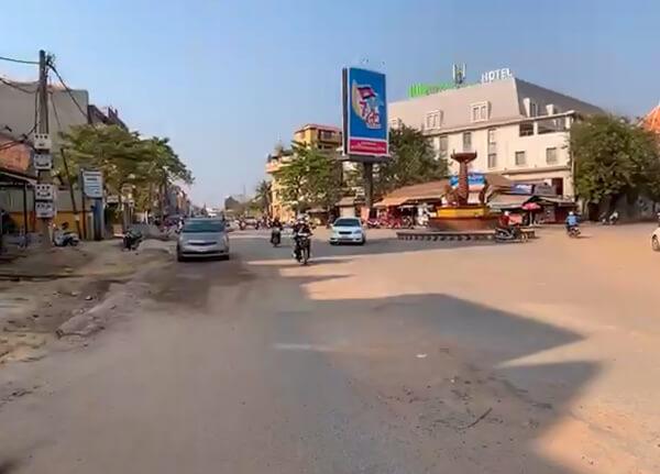 Neak Poan Kreisverkehr in Siem Reap