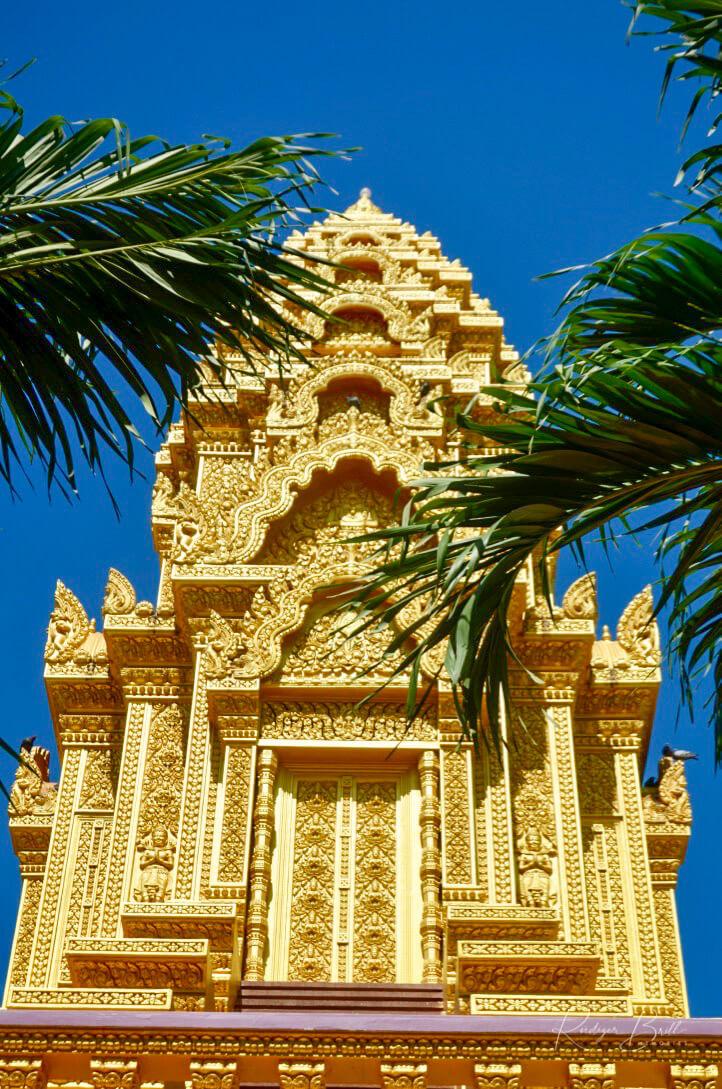 Vergoldeter Turm