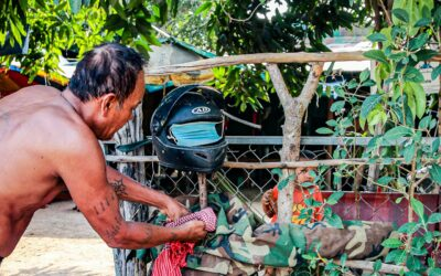 Ting Mong in Kambodscha – Vogelscheuchen, die keine sind