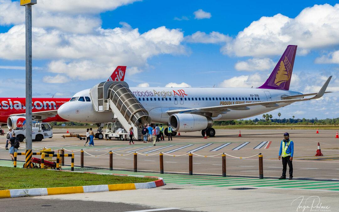 Alte und neue Flughäfen in Kambodscha