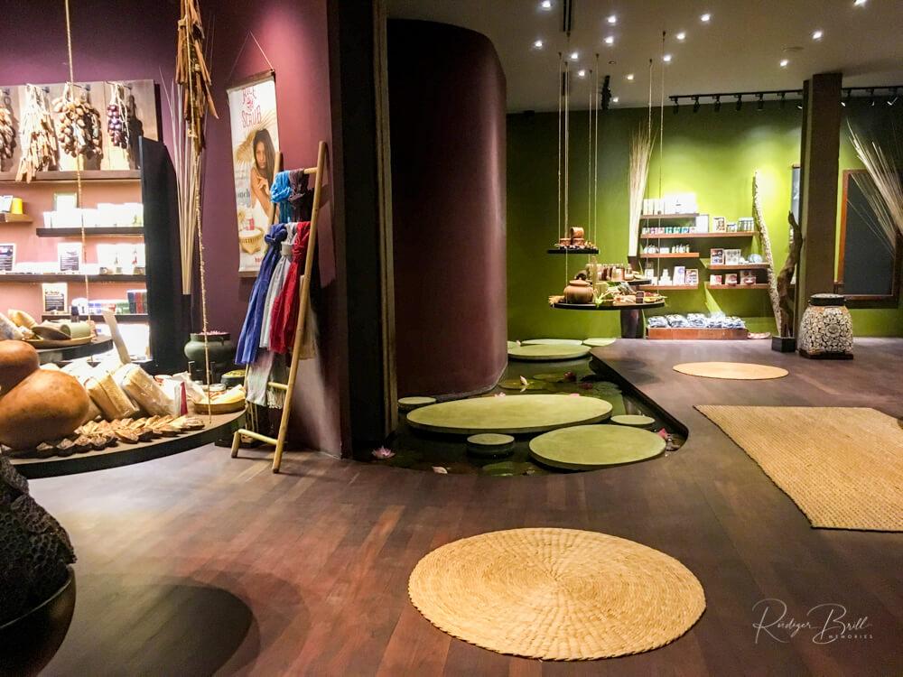 Bodia Massage von innen