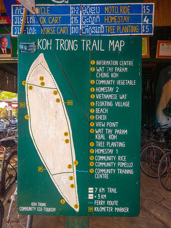 Koh Krong - Insel in der Provinz Kratie, Kambodscha