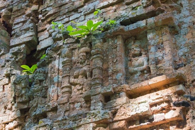 Sambor Prei Kuk Tempel in Kampong Thom, Kambodscha