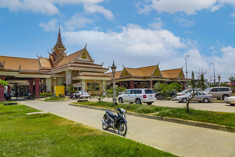 Svay Rieng - Provinz Kambodscha, Grenzübergang Bavet