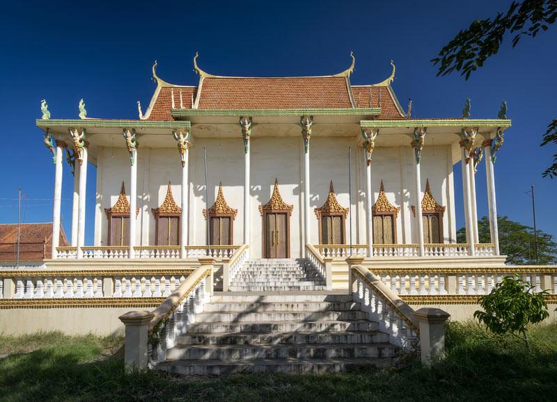 Wat Svay Andet in der Kandal Provinz, Kambodscha - UNESCO Weltkulturerbe