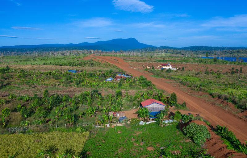 Phnom Aural, Provinz Kampong Speu in Kambodscha