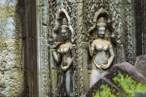 Ta Prohm Tempel - 2 Devatas