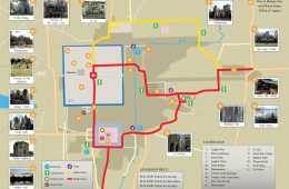 Map of Angkor Wat - by YouCan Trust
