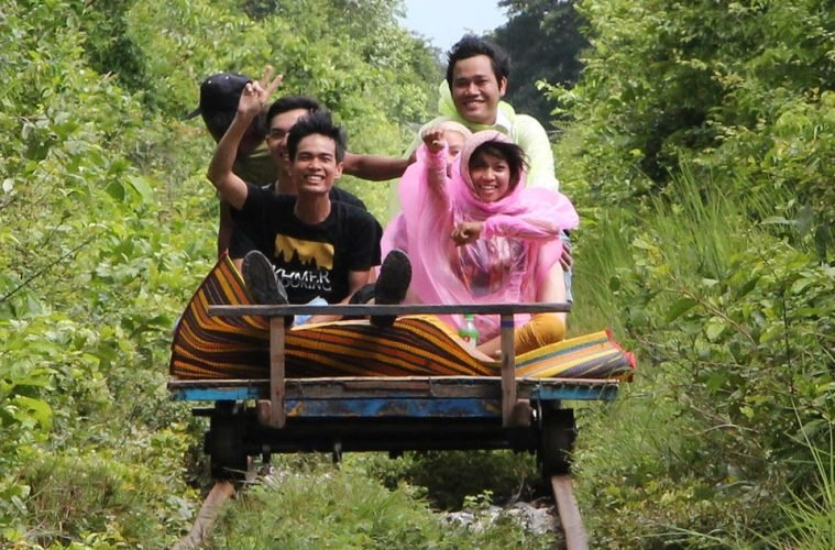 Norry - Bamboo Train, Cambodia