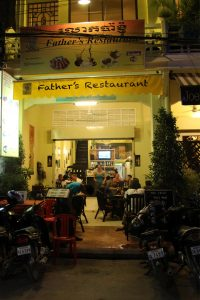 Father´s Restaurant, Siem Reap - Cambodia