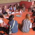 The meetings during the Intercultural Innovation Camp in 2012