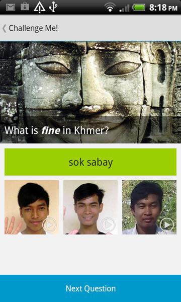 Khmer Smartphone Application