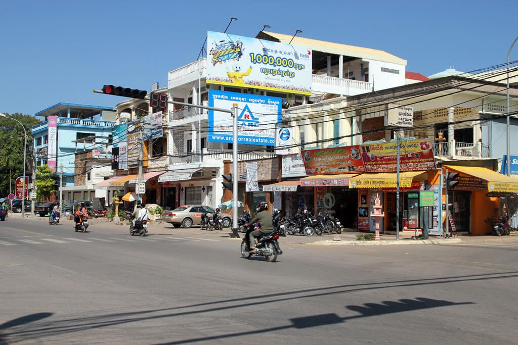 Crossing in Siem Reap