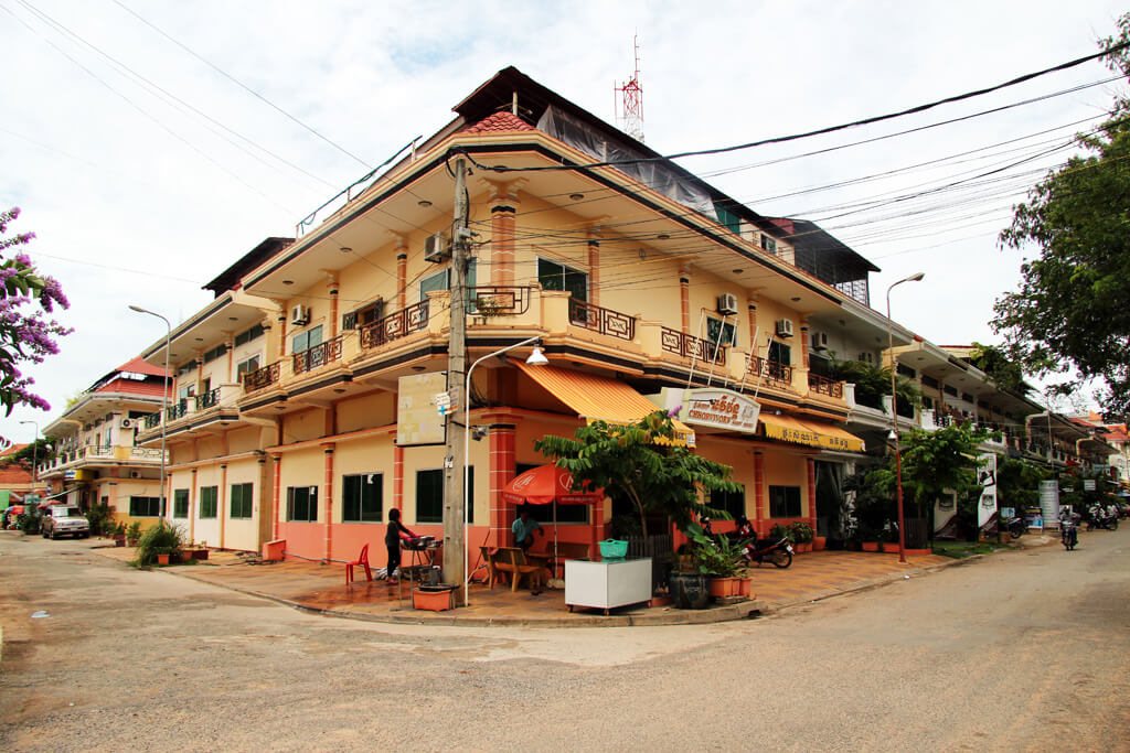 French district in Siem Reap