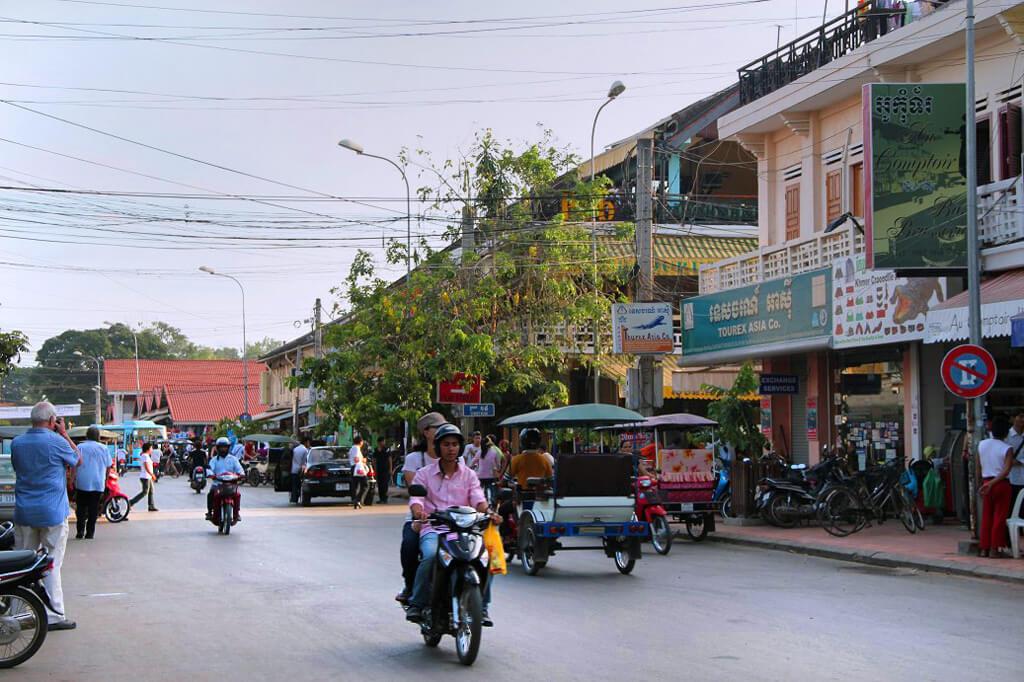 Downtown in Siem Reap
