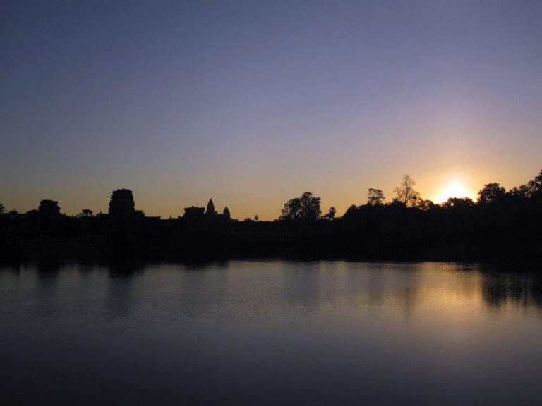 34 Sunset Points in the Angkor Park