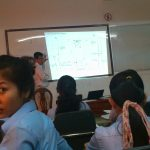 In the classroom of the University of South-East Asia