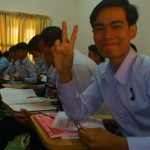 This is Ly Heng at the University of South-East Asia