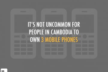 October 2012: Report Social, Digital and Mobile in Cambodia from we are social