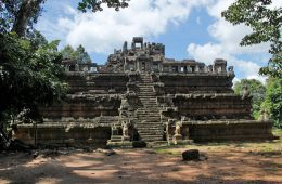 Phimeanakas, the three tier temple at Angkor