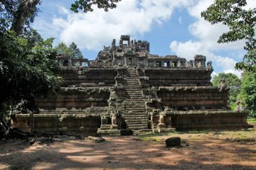 Phimeanakas, the three tier temple at Angkor