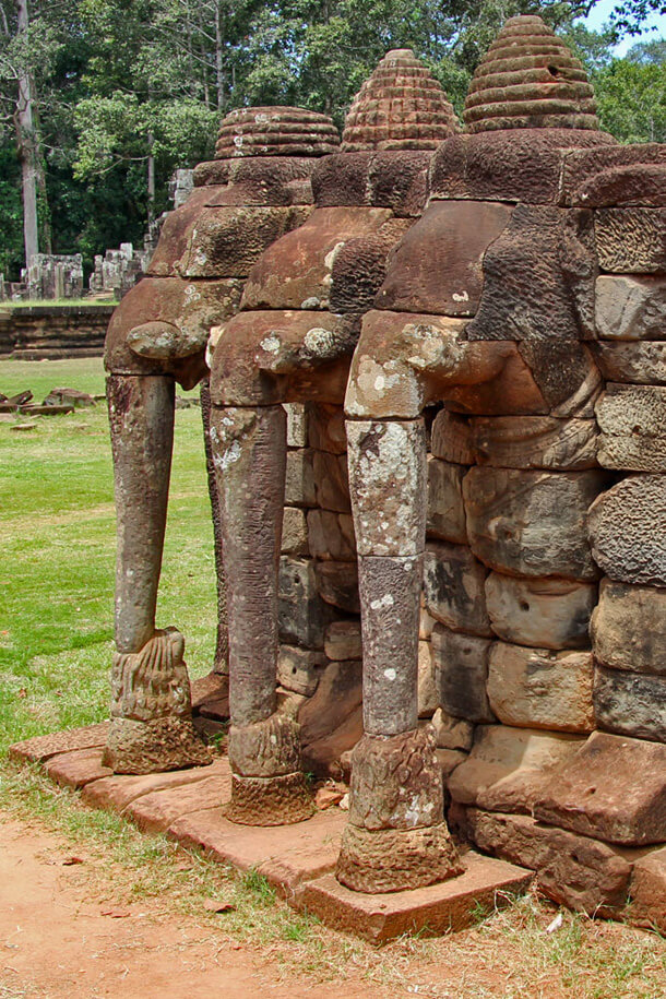 Terasse des Elephants, Angkor