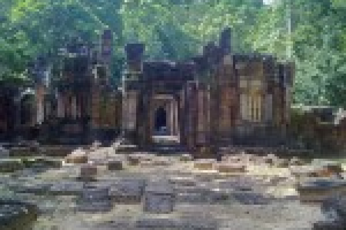 Krol Ko Temple at Angkor – Park of the Oxen