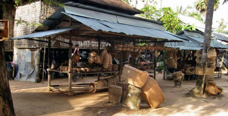 Preah Dak Village in the East of Angkor