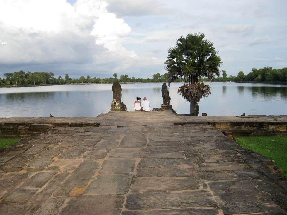Srah Srang - water reservoir at Angkor