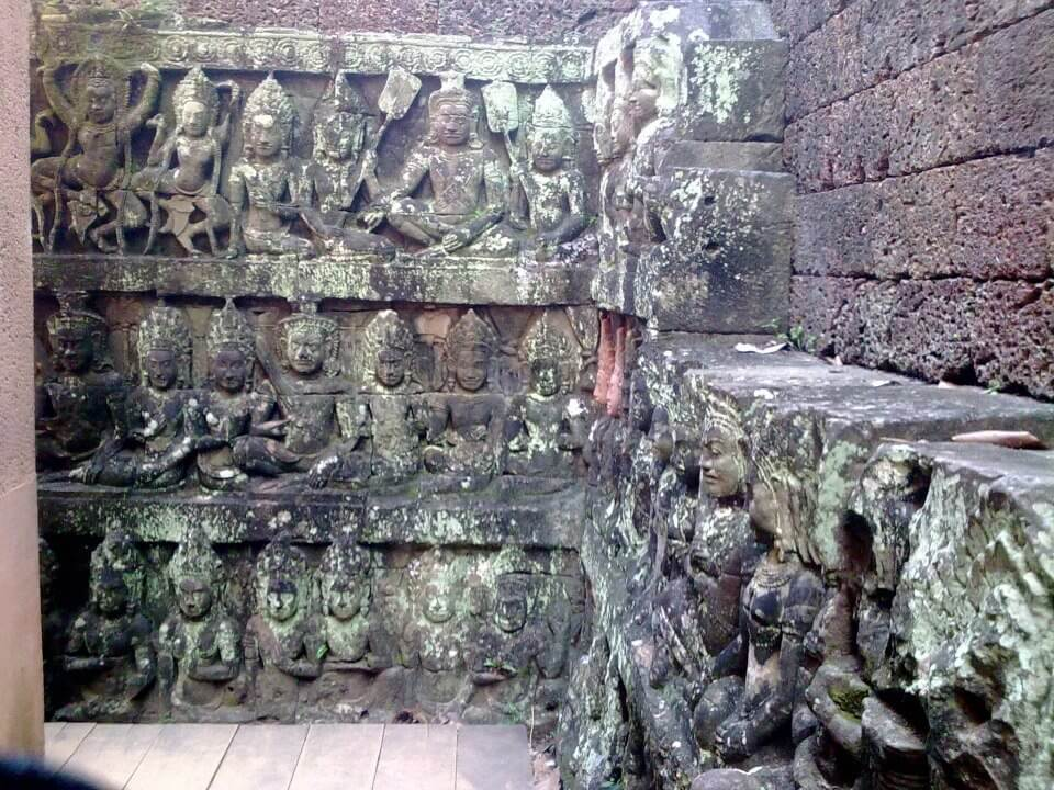 Terrace of the Leper King - Angkor, Cambodia