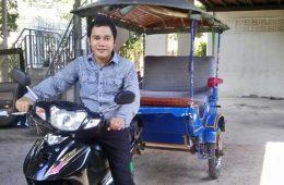 Sem Vutha - Cambodian Tuk Tuk driver