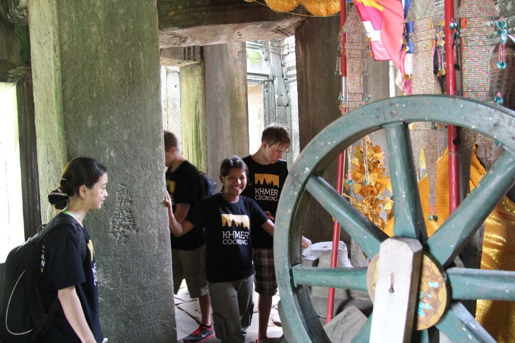 Wheel of Life at Banteay Kdei Temple
