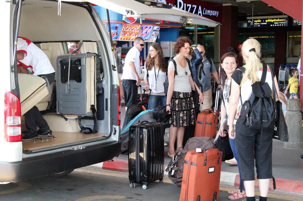 Cambodia: Arrival