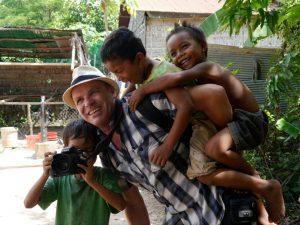 John Petter Klovstad - loved by children