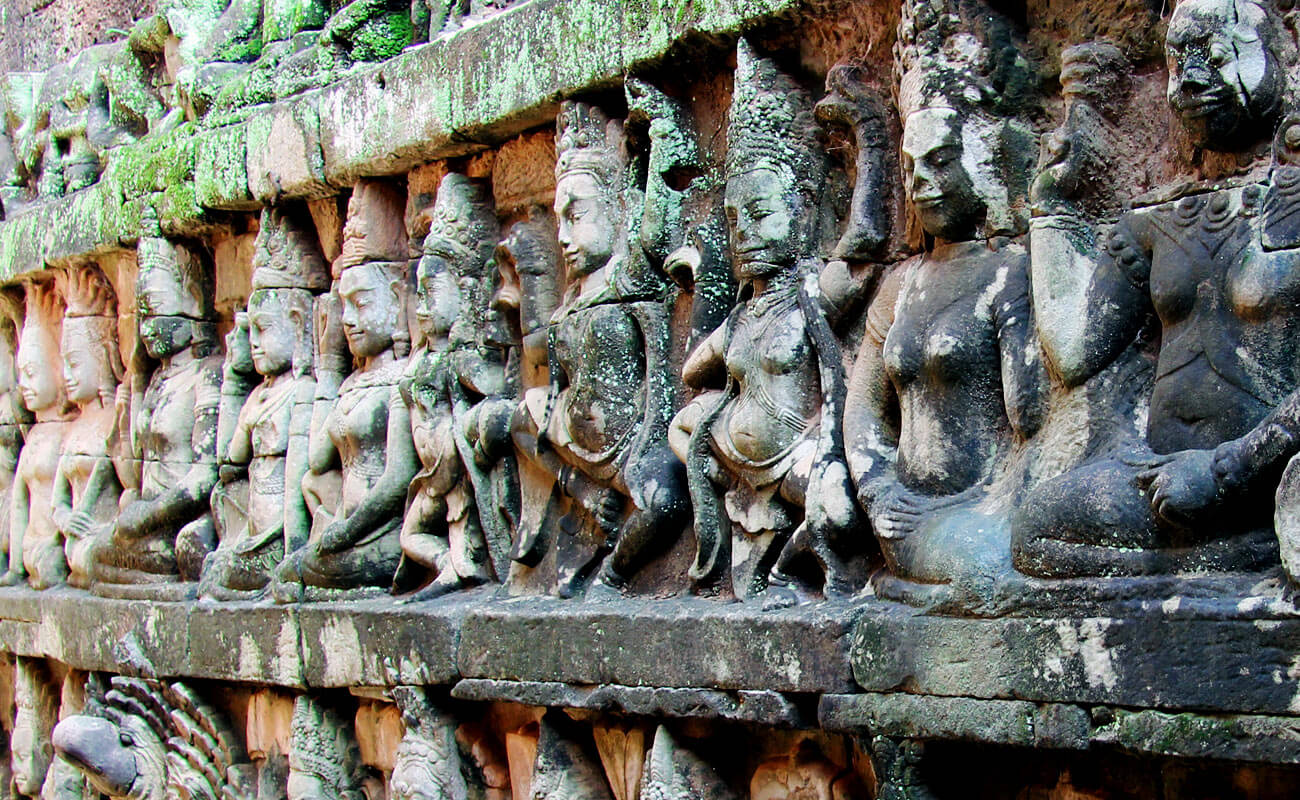 Terrace of the Leper King, Angkor