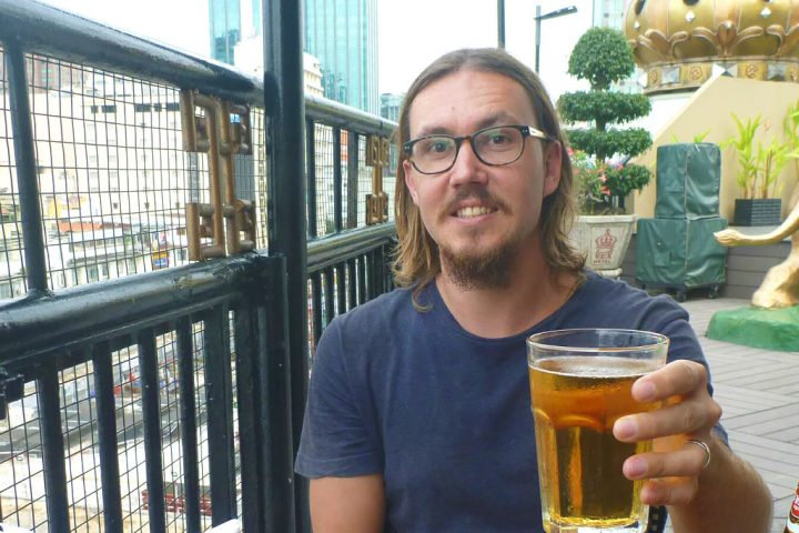 Clint Brimson – the hungry traveller with an open mind