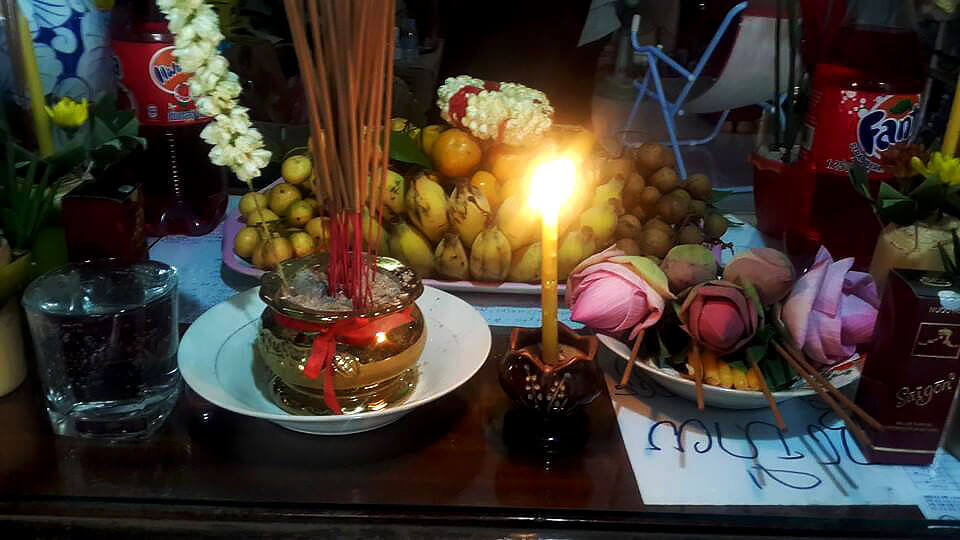 Khmer New Year 2015 - Offering for Angel Reaksa Tevy