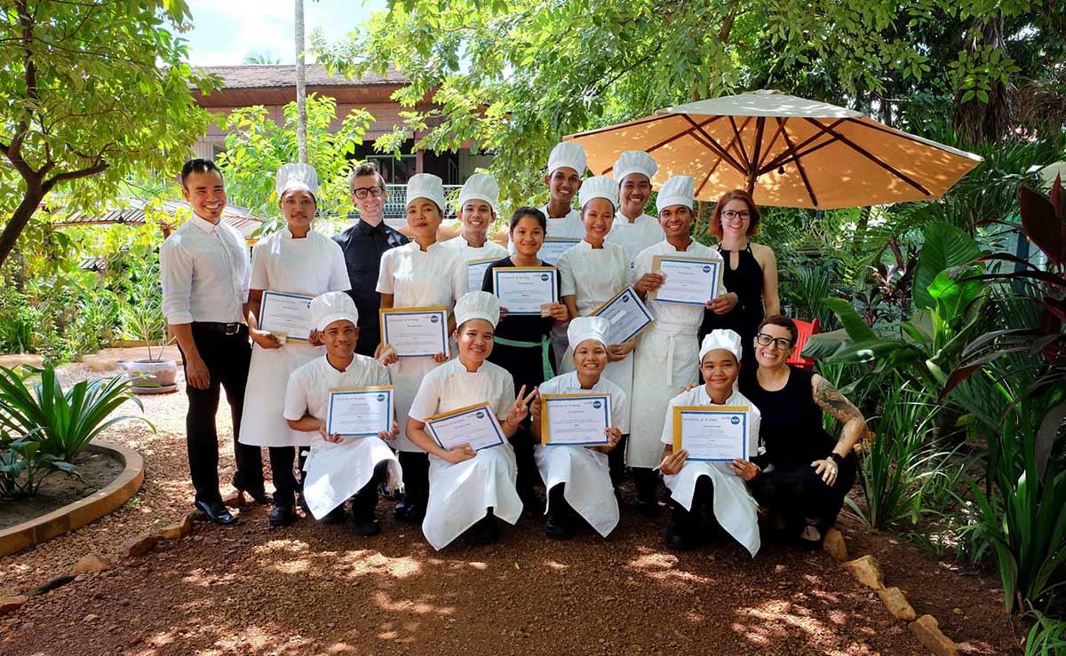 Graduation HAVEN Restaurant Siem Reap