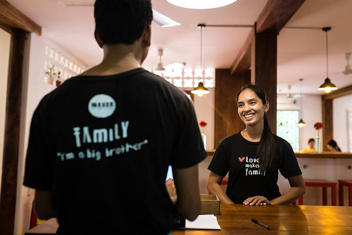 Staff HAVEN Restaurant - Siem Reap