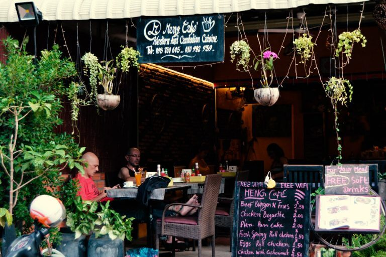 Meng Cafe in Siem Reap