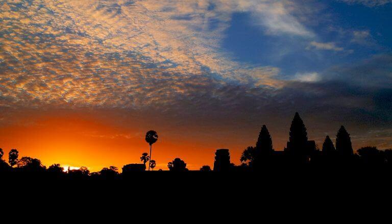 Angkor Wat Temple, Sunrise - Cambodia