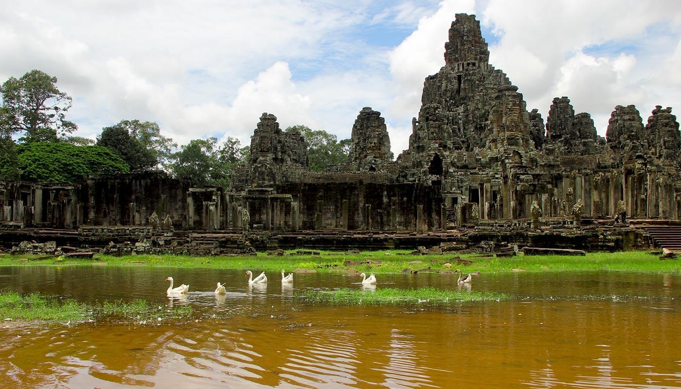 Bayon - Angkor Temple, Cambodia
