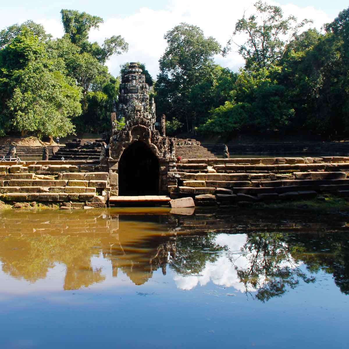 Neak Pean - Angkor Temple, Cambodia
