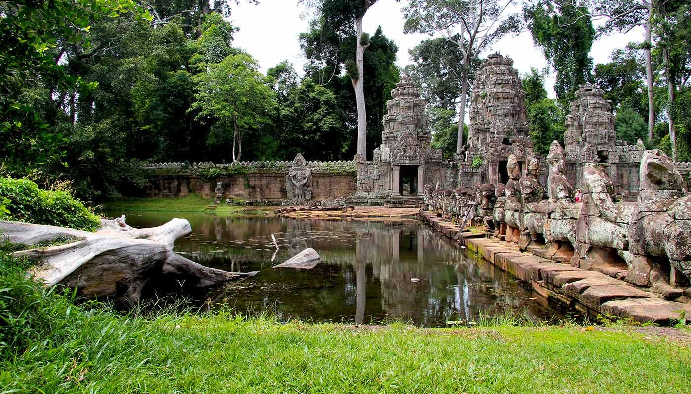 Preah Khan, Angkor Temple, Cambodia