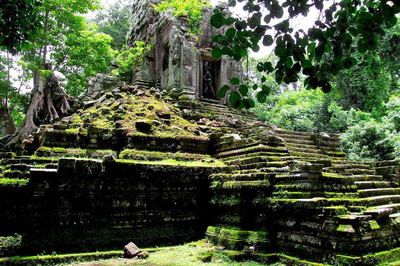 Preah Paliley - Angkor Temple, Cambodia