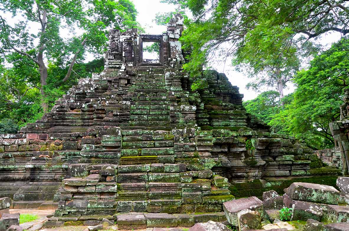 Preah Pithu - Angkor Temple, Cambodia