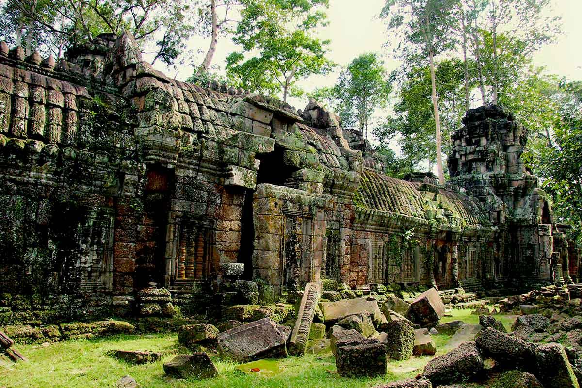 Ta Nei - Angkor Temple Cambodia