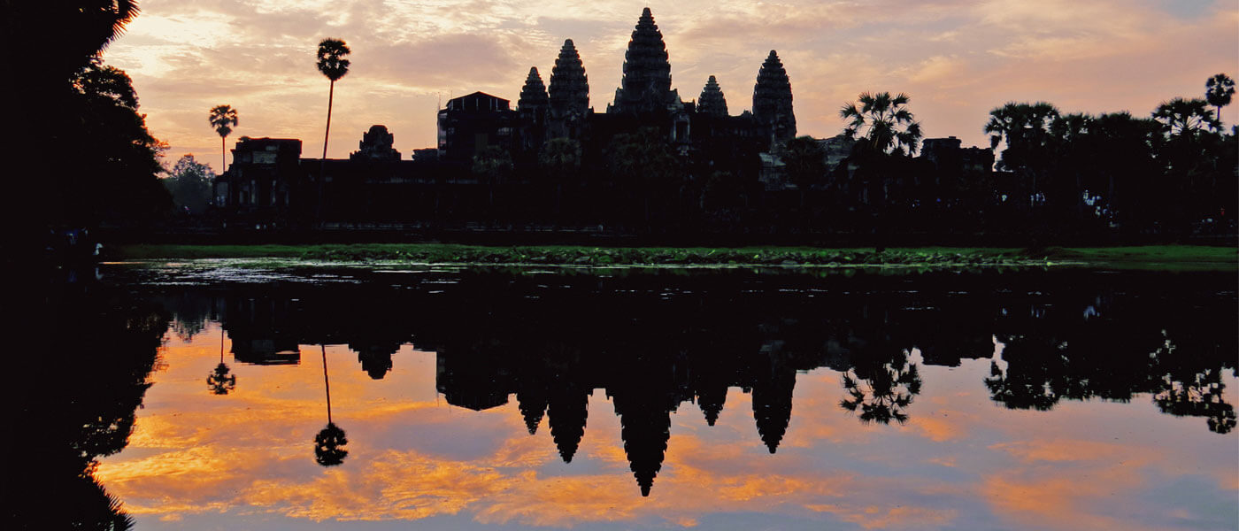 Angkor Wat Temple - sunrise