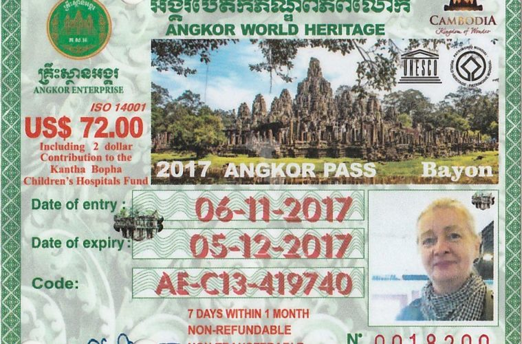 Angkor Ticket - 7 Day Pass