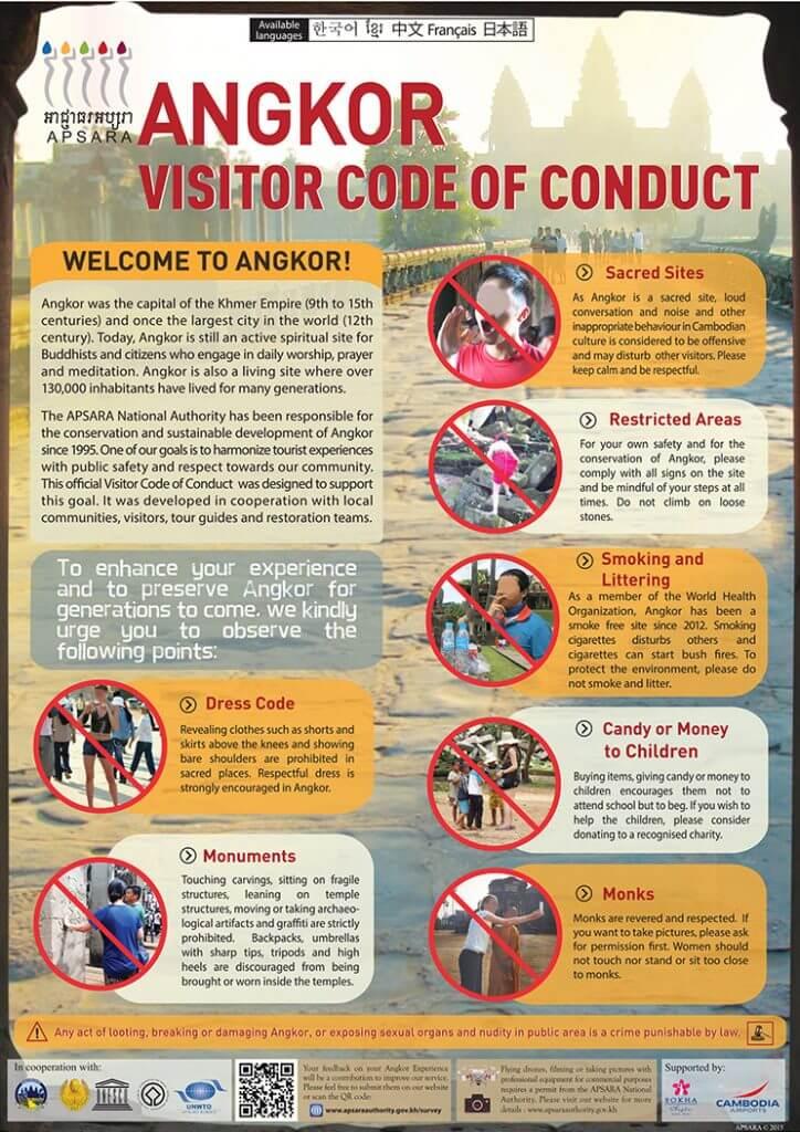 Angkor: Code of Conduct